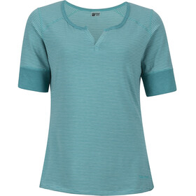 Marmot Cynthia SS Shirt Women Teal Tide